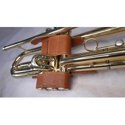 chránič pístů pro trumpetu, hnědý
