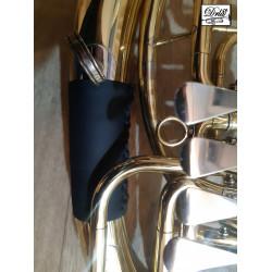 Kožený chránič na baskřídlovku tenor část A