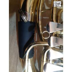 Kožený chránič na baskřídlovku baryton část A