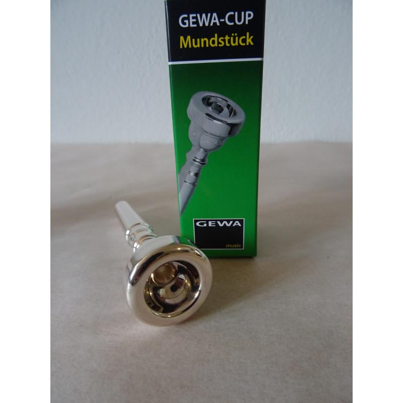 nátrubek GEWA pro trumpetu 1 1/2 C , stříbřený